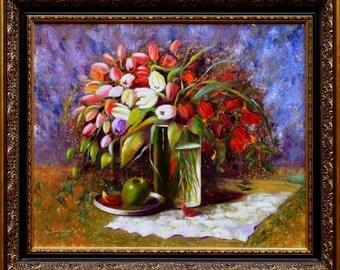 Dutch still life - Original oil painting