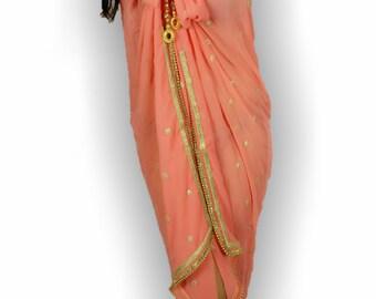 Coral sarong, Peach Cover up, women's Beach Coverup, handmade,resort wear, swimsuit coverups, Beach coverups, sarongs, pareo, Coral coverup