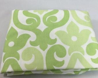 Kiwi Green Alexa Crib Sheet