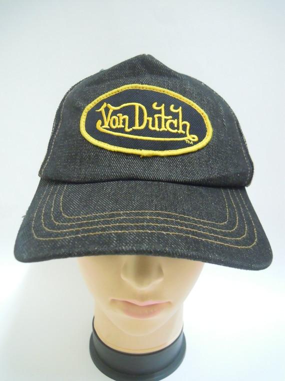 rare vintage von dutch hat cap von dutch snapback cap. Black Bedroom Furniture Sets. Home Design Ideas