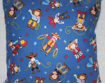 Handmade Cushion Cover - Cowboys