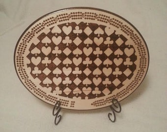 Cribbage Board - Card symbols