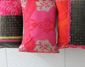 /Recto back pillow covers / editor Casamance/Designer Guild/Camengo fabrics / gift wedding / COUS150171