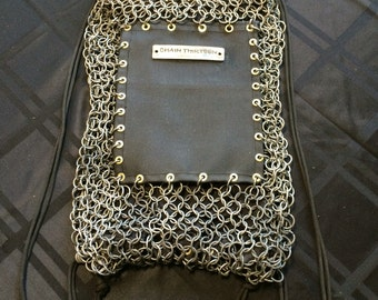 Chainmail Drawstring Backpack V2