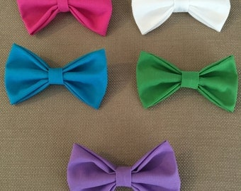 Spring Colored Fabric Bow