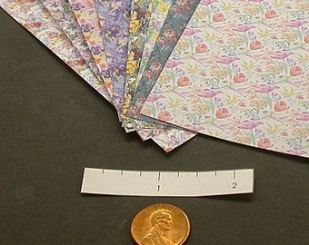 Miniature Floral Wrapping Paper