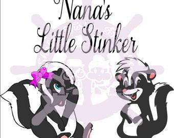 SVG Nana Little Stinker