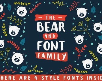 The Bear & Font Family