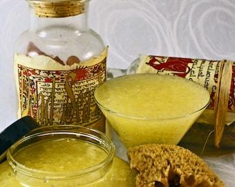 Aloe Vera  Sea Salt Body Scrub Vitamin E & Avocado Oil