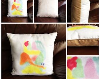 Original Artwork Cushion - Ur XXXtra Time