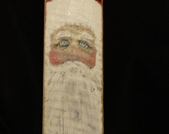 Old fashion weary santa