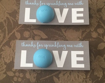 Sprinkled with Love Baby Shower Favor - GREY / BABY BLUE