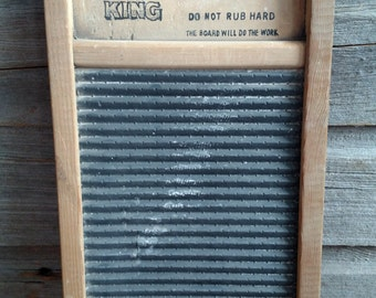 Zing king lingerie wash board