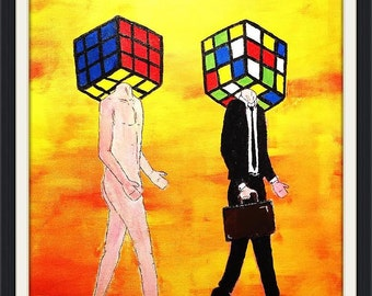 Our Rubik's Cube Minds