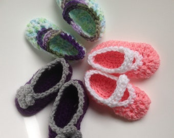 baby girl mary jane shoes (three pairs for only 18 dollars)