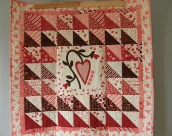 Heart Quilt / Baby Quilt