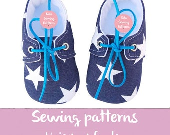 kids sewing pattern PDF, Baby shoes boy  Rex / boys tennis shoes / infant boys shoes / green baby booties toddler boy shoes little boy shoes