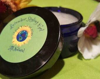 Lavender Hair Styling Gel