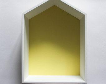 Yellow Shelf house