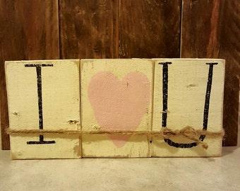 Valentines I Heart U