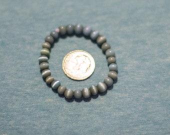 Newborn Blue Bead Bracelet