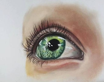 Hopeful eyes - Fine Art Print