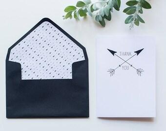 6x Arrow - Cards & Envelopes
