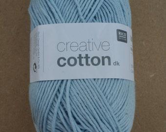 Rico Creative Cotton DK Light Blue 011