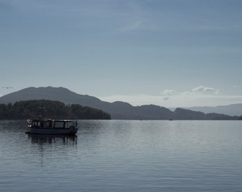 Morning on the Loch, Summer in Scotland Fine Art Photography Print