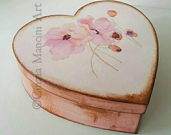 Light Pink Poppies Box