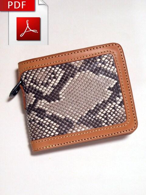 leather wallet sewing pattern wwwimgkidcom the image