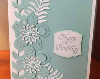 Stampin Up handmade birthday card