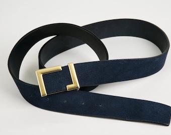 Elegant Women belts in leather Nabuk