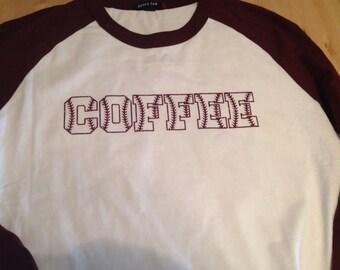 Custom baseball raglan shirt