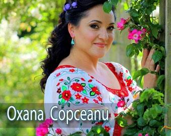 Oxana Copceanu - ''Jocul ca la mine-n sat'' (Oficial). CD-12 piese (Folclor Romanesc)