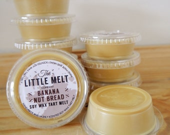 Banana Nut Bread Soy Wax Tart Melt Pot