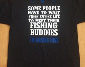 Men's Fishing Shirt, Father Son Fishing Shirt, Fishing Buddy, Father's Day Gift, Dad Gift, Father Daughter Fishing Shirt