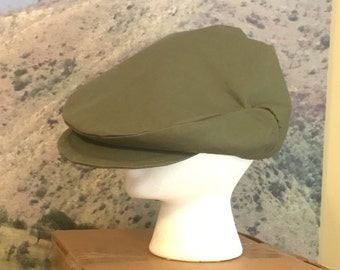 Army Green Driving Cap