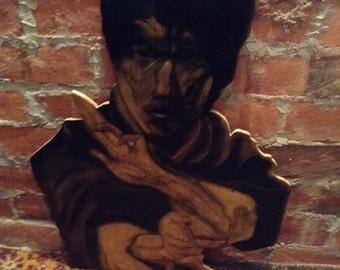Bruce Lee wall art