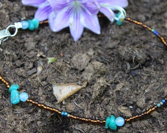 Earth Toned Anklet