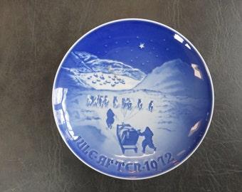 1972 Bing & Grondahl Christmas Plate