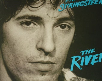 Bruce Springsteen record album Springsteen The River vintage vinyl record