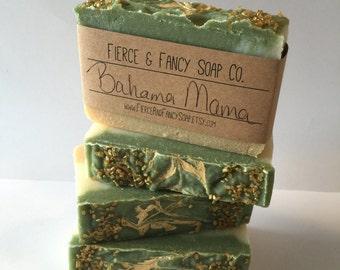 BAHAMA MAMA SOAP | Handmade Soap | Tropical Soap | Cold Process Soap