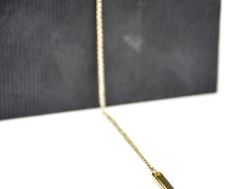 Handmade Gold-Plated Chain Necklace