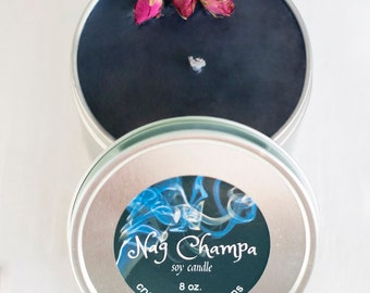 Nag Champa Soy Candle ~ Incense Candle