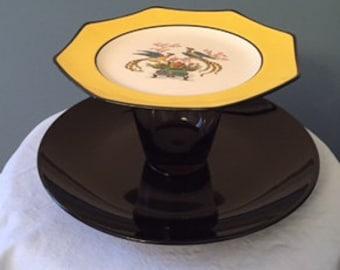 tiered dessert plate