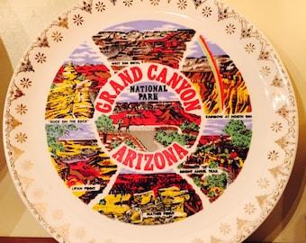Vintage Grand Canyon souvenir plate