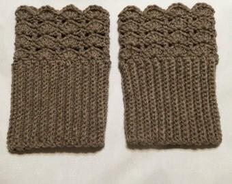 Crochet Boot Cuffs/ Boot Toppers