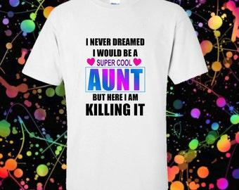 Cool Aunt Tshirt