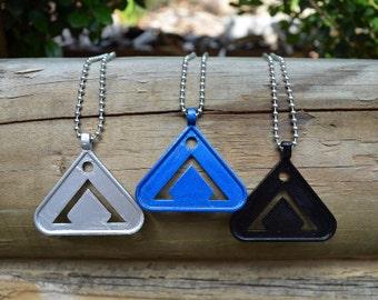 SALE! Stargate Necklace Pendant  - Point of Origin - Earth Symbol Chevron